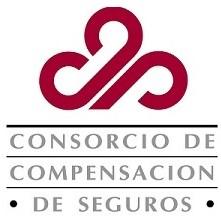 Logo del Consorcio de Compensación de Seguros.