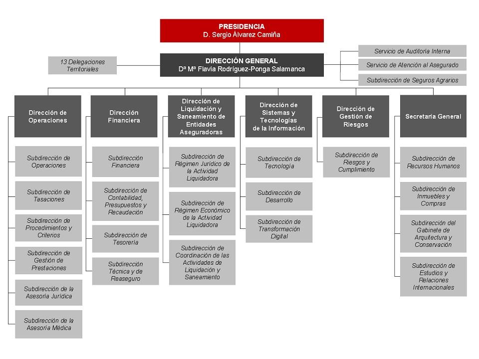 Organizaci n y estructura for Oficina de turismo de suiza en madrid